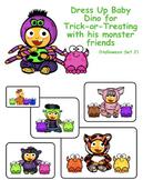 VIPKID Dino Dress Up - Halloween Set 2