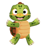 VIPKID Dino Dress Up - Reptiles and Amphibians - Turtle