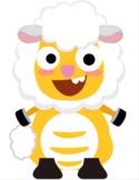 VIPKID Dino Dress Up - Farm Animal - Sheep