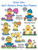 VIPKID Dino Dress Up - Spring - April Showers & May Flowers - Reward System