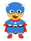 VIPKID Dino Dress Up - Super Hero Boys - Captain America