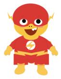 VIPKID Dino Dress Up - Super Hero Boys - Flash