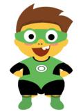 VIPKID Dino Dress Up - Super Hero Boys - Green Lantern