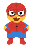 VIPKID Dino Dress Up - Super Hero Boys - Spider Man