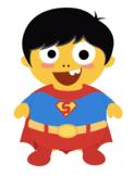 VIPKID Dino Dress Up - Super Hero Boys - Super Man