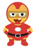 VIPKID Dino Dress Up - Super Hero Boys - Iron Man
