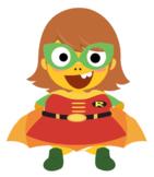 VIPKID Dino Dress Up - Super Hero Girls - Robin
