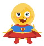 VIPKID Dino Dress Up - Super Hero Girls - Super Girl