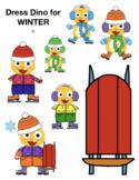 VIPKID Dino Dress Up - Winter Clothes