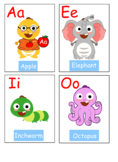 VIPKID Dino Vowel Flashcards