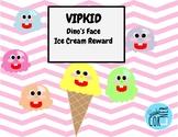 VIPKID Dino's Face Ice Cream Reward
