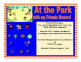 VIPKID GogoKid Palfish at the Park with Friends Props Bulletin Board Decoration