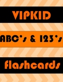VIPKID Flash Cards ABC and Numbers