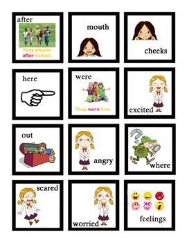 VIPKID - Flash Cards for INTERACTIVE Level 2 Unit 7 Set of 24 Flashcards