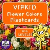 VIPKID Flower Colors Flashcards