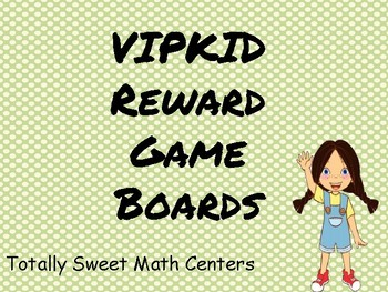VIPKID Game Board Rewards!