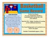 VIPKID GogoKid Palfish Basketball Game Reward Props Bulletin Board Decoration