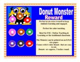 VIPKID GogoKid Palfish Monster Donut Reward Props Bulletin Board Decoration