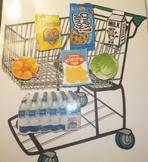 Online ESL Teaching - Grocery Cart Environmental Print Reward Prop VIPKID