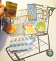 Online ESL Teaching - Grocery Cart Environmental Print Reward Prop VIPKID