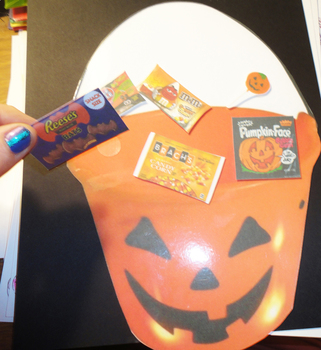 Online ESL Teaching - Halloween Candy Bucket Holiday Reward Prop Activity VIPKID