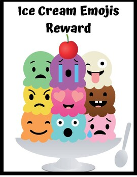 VIPKID: Ice Cream Emojis Reward