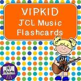 VIPKID JCL Music Flashcards