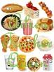VIPKID L2-U6 Food/Meals MINIMALIST/NO MESS/TRAVEL SIZE cards