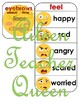 VIPKID L2-U7 Face and Feelings MINIMALIST/NO MESS/TRAVEL SIZE cards