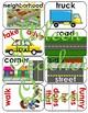 VIPKID L2-U9 Neighborhood/Transportation Flash Cards