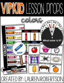 VIPKID Lesson Props- Colors