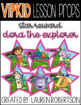 VIPKID Lesson Props- Dora the Explorer Stars