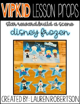 Vipkid Lesson Props Frozen Rewards By Teacher Lauren Robertson Tpt