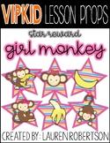 VIPKID Lesson Props- Girl Monkey Stars