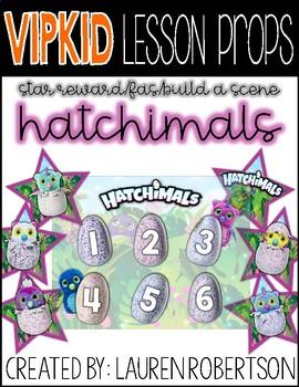 VIPKID Lesson Props- Hatchimals Rewards