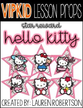 VIPKID Lesson Props- Hello Kitty Stars