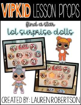 Vipkid Lesson Props Lol Surprise Dolls Find A Star By Teacher