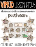 VIPKID Lesson Props- Pusheen the Cat Stars and Build a Scene
