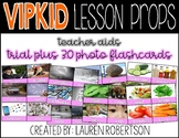 VIPKID Lesson Props- Vocabulary Photo Flashcards- Trial Plus 3.0