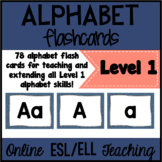 Online ESL Alphabet Flashcards (VIPKID Level 1 - PreVIP)