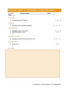 VIPKID Level 1 (PreVIP) Unit 1 Lesson 4 Checkpoint
