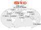 Level 1 World Map! {VIPKID or online teaching!}