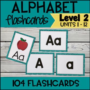 Online ESL Alphabet Flashcards (VipKid Level 2 )