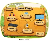 VIPKID Level 2 Mid Unit Assessment Game Map and Student Images