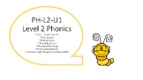 VIPKID Level 2 Phonics Word Cards