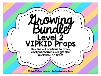 VIPKID Level 2 Prop Bundle