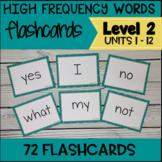VIPKID Level 2 Sight Words Units 1 - 12 for Online Teaching