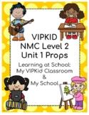 VIPKID Level 2 Unit 1 Props