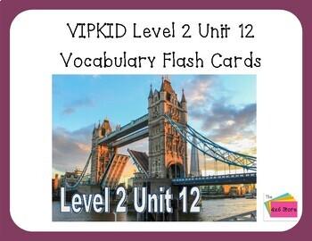 VIPKID Level 2 Unit 12 (Interactive) - Visiting America/Britain