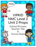 VIPKID Level 2 Unit 2 Props